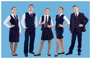 Форма для старшей школы