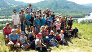 Лингвистический лагерь. Горный Алтай 2016